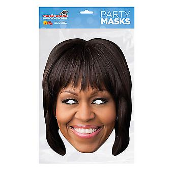 Mask-arade Michelle Obama Party Mask