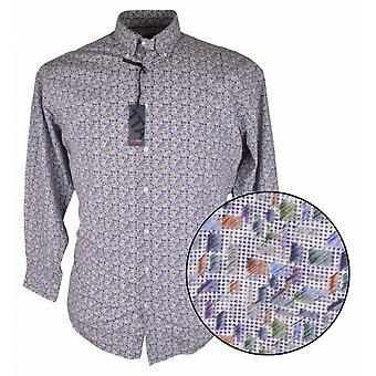 J.T. Ascott Multi Pattern Long Sleeve Shirt