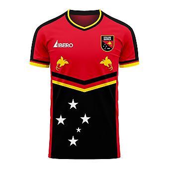 Papua New Guinea 2020-2021 Home Concept Football Kit (Libero) - Kids
