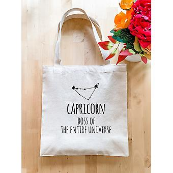Capricorn Zodiac (boss Of The Entire Universe) - Tote Bag