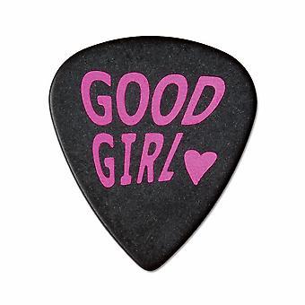 6 Pickboy Angel Rocks - Guitar Picks/Plectrums -  Good Girl - Pink 1.00mm