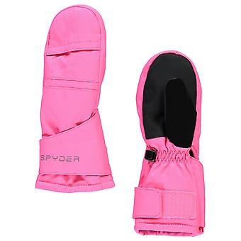 سبايدر BITSY CUBBY الشتاء فتاة التزلج Mittens الوردي