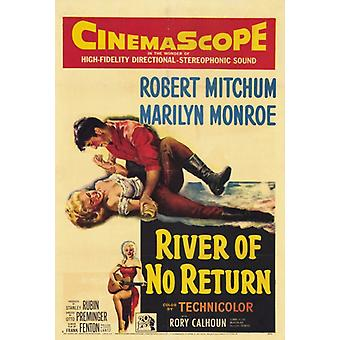 River of No Return Movie Poster Print (27 x 40)