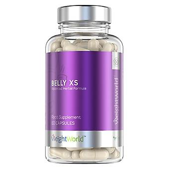 Belly XS - 60 Natural Fat Burning Tablets - With Green Tea & Apple Cider Vinegar