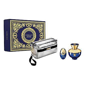 Women's Parfum Set Dylan Blue Femme Versace EDT (3 buc)