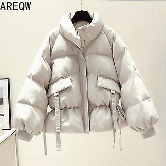 Cotton Women's Outwear Korean Style Autumn Winter Coats Jacket