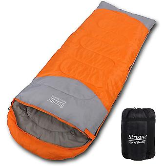 Sleeping Bag for Adults, Extra Large Single Person 3-4 Season Use Envelope Style Breathable  Waterpr