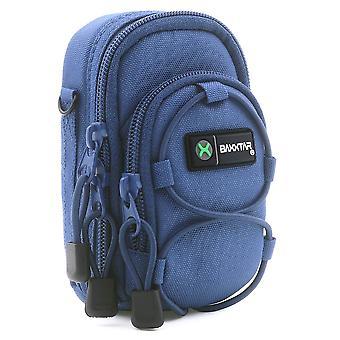 Baxxtar új v3 digitális fényképezőgép táska tok (kék) m (v3) kék