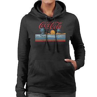 Coca Cola Delicious And Refreshing Ocean Waves Femmes & s Sweat à capuche
