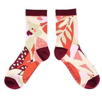 Powder Women's Ankle Socks | Modern Parrot