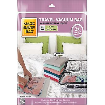 Travel Vacuum Bag - Set Of 2 Storage Bags