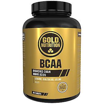 Gold Nutrition Bcaa Aminoácidos 60 cápsulas