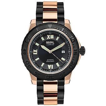 Gevril Seacloud Automatic Black Dial Men's Watch 3123B