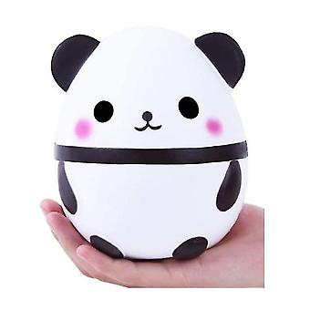 Creative Simulation Giant Panda Egg Child Decompression Slow Rebound Pu Toy