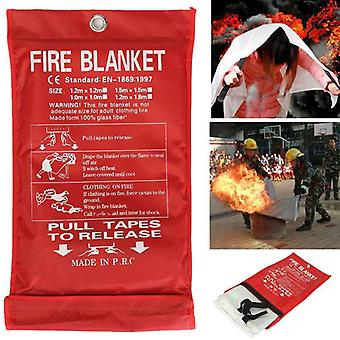 Sealed Fire Blanket Fighting Extinguishers Tent, Boat Emergency Survival