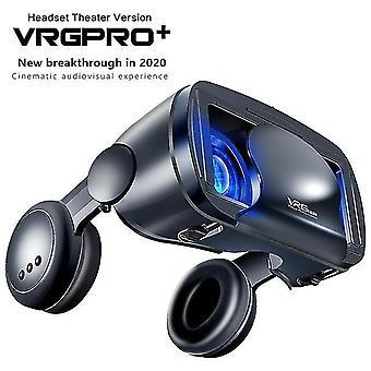 5~7인치 vrg 프로 3d VR 안경 가상 현실 전체 화면 비주얼 광각 VR 안경 박스 5~7인치 스마트폰 안경