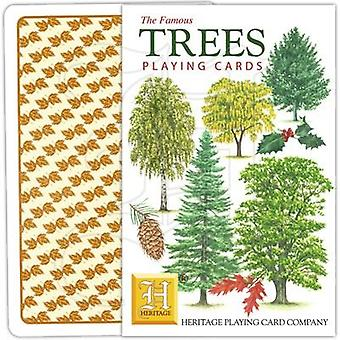 Trees by Heritage Playing Cards
