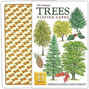 Bäume nach Heritage Spielkarten