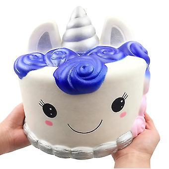 Copoz Oversized Unicorn Cake Squishy Slow rebound Decompression vent toys for kids,adult