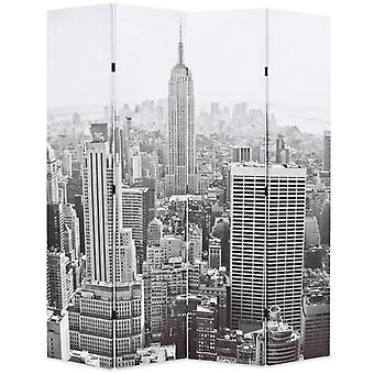 vidaXL غرفة مقسم قابل للطي 160 × 170 سم نيويورك من قبل الأبيض والأسود اليوم