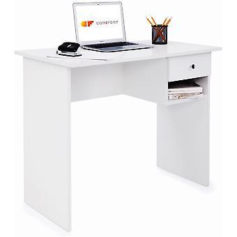 FengChun Schreibtisch - Robuster Praktischer Schreibtisch in Modernem und Minimalistischem Stil,