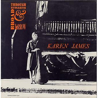 Karen James - Vol. 2-Through Streets Broad & Narrow-Karen James [CD] USA import