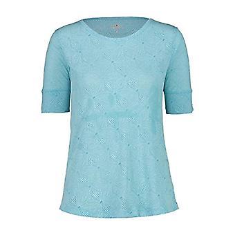 Women's CMP T-Shirt with Floral Fantastia 30C6246, Jade, 48