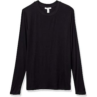 Brand - Daily Ritual Women's Fluid Knit Long-Sleeve Crewneck Shirt