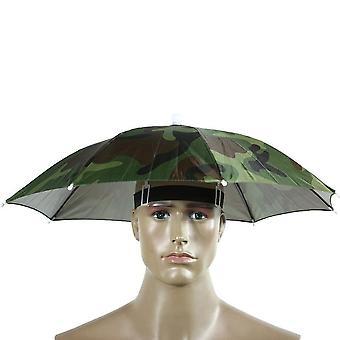 Chapeau parapluie extérieur, jour de pluie jour de pluie Casquettes mains libres