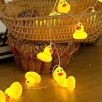 Mini Yellow Duck Glow Led String Fairy Light