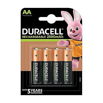 Duracell R6 Ni-MH batteries code 81418263 2500mAh 4bc blister