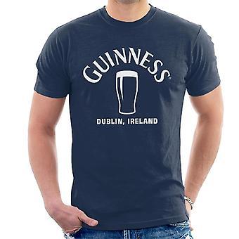 Guinness Dublin Irland Pint Disposisjon Herre T-skjorte