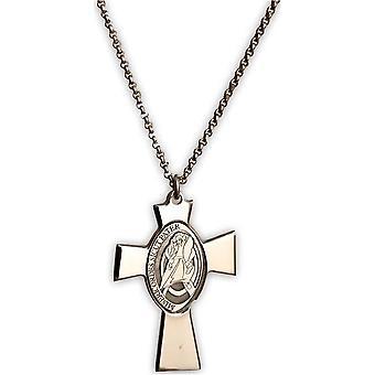 Amen croce gesu madre perla halsband clcrgiu