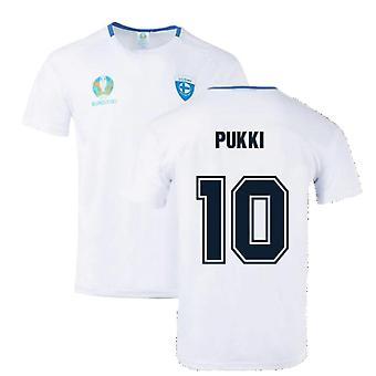 Finland 2021 Polyester T-Shirt (White) (Pukki 10)