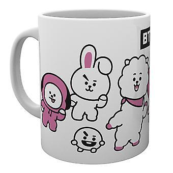 BT21 Music Group Mug