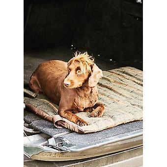 الفاخرة الشوكولاته تويد الكلب سرير السفر