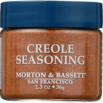 Morton & Bassett Seasoning Creole, Case of 3 X 1.3 Oz