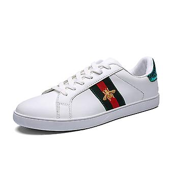 Bee couple shoes low-top sneakers 1E901 WhiteGreen