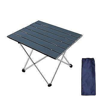 Black 56.5*40.5*41cm ultra light aluminum alloy folding table homi4943