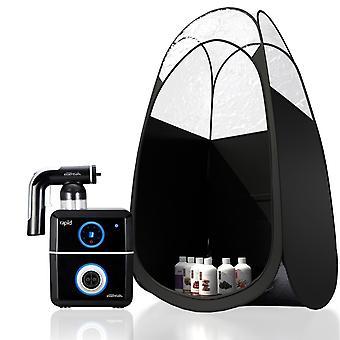 Tanning Essential Black Rapid Kit with Suntana Trial - Black Tent