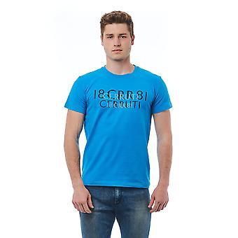 Camiseta Azul Cerruti 1881 hombres
