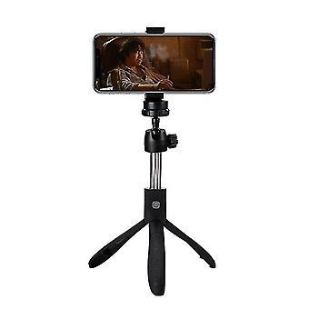Taitettava langaton Bluetooth Selfie Stick£¬Laajennettava kädessä pidettävä jalusta (musta)