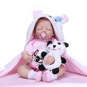 Nuevo 50cm de silicona renacido super bebé niño realista bebé bonecas muñeca infantil bebes renacidos brinquedos renacidos juguetes para niños regalo