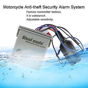 Mini fjernbetjening motorcykel LCD Tyverisikring Alarm system 986e1