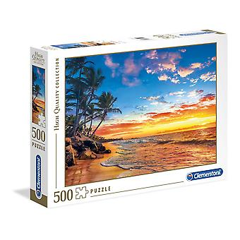 Clementoni Paradise Beach Korkealaatuinen Palapeli (500 Kappaletta)