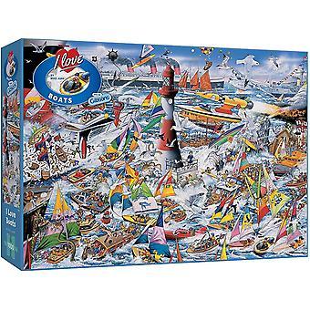 Gibsons je Rencontres Bateaux Jigsaw Puzzle (1000 pièces)
