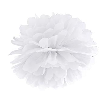 LAST FEW - 35cm White Tissue Paper Pom Pom Party Decoration