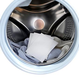 Laundry balls washing machine use mixed dyeing proof color absorption sheet anti dyed cloth