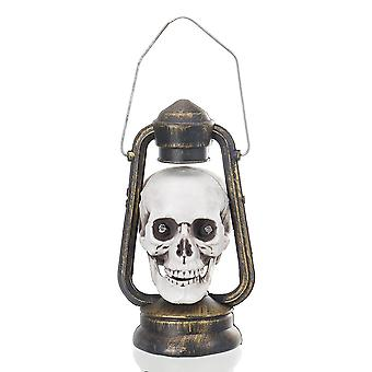 Portatile LED glowing Skull Hand Lantern Halloween Atmostphere Luce Appesa Lampada Fantasma Spaventoso Infestato
