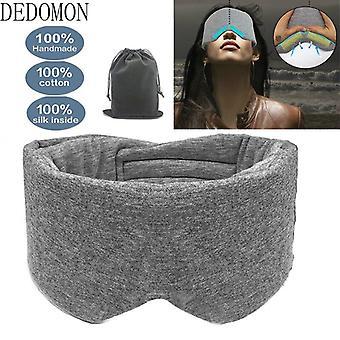 1 Pc sleep mask comfortable breathable sleeping eye mask adjustable eyeshade blinder blindfold eye patch best night companion